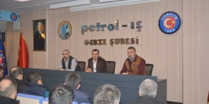 Petrol-İş'ten grevci işçilere eğitim