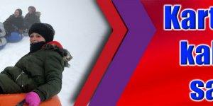 Kartepe'de kar kalınlığı 140 santimetre
