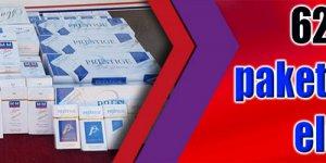 624 bin 800 paket kaçak sigara ele geçirildi