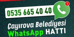Çayırova'da Whatsapp çözüm hattı