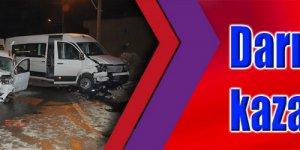 Darıca'da trafik kazası: 11 yaralı