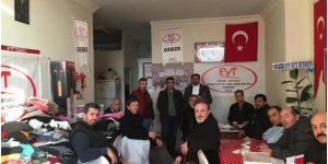 EYT Gebze'den depremzedelere destek