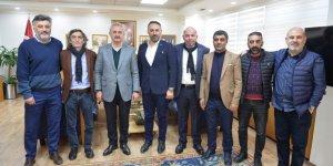Gebzespor yönetiminden protokol ziyaretleri