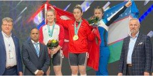 Berfin adım adım Avrupa şampiyonluğuna