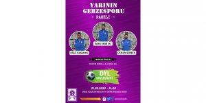 Gebzespor'lu futbolcular panele katılacak