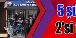 FUHUŞ OPERASYONU: 5 şüpheliden 2'si tutuklandı