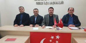 Saadet Gebze'nin yeni yönetimi toplandı