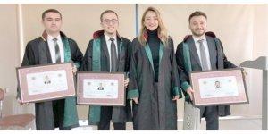 Kocaeli Barosu'na yeni avukatlar