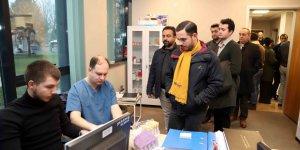 İSU personeline sağlık taraması yapıldı