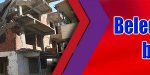 Belediye, tehlikeli binayı yıktı