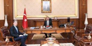 PTT Başmüdürü Vali Aksoy'u ziyaret etti