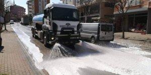 Gebze sokakları temizleniyor