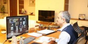 Meclis Üyeleriyle Video Konferansla Görüştü