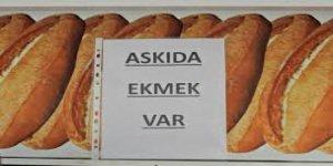 YRP Çayırova'dan askıda ekmek kampanyası