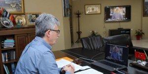 AK Parti'de video konferans toplantı