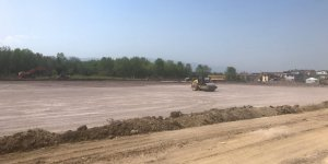 Sahra hastanesi inşaatında çalışmalar devam ediyor