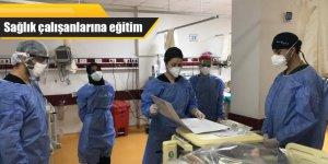 Sağlık çalışanlarına eğitim