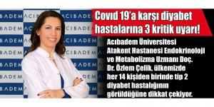 Covid 19'a karşı diyabet hastalarına 3 kritik uyarı!