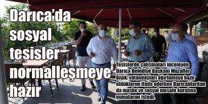 Darıca'da sosyal tesisler normalleşmeye hazır