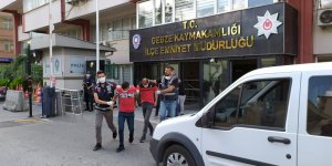 Gebze'de 2 gaspçı tutuklandı
