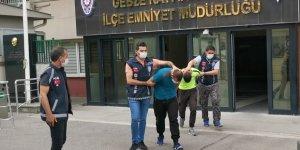 Gebze'de kombi hırsızları tutuklandı