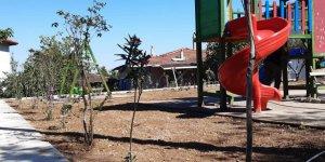 Demirciler Mahallesi'ne park