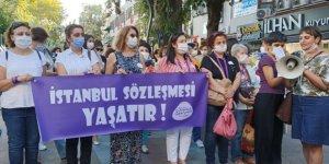 İstanbul Sözleşmesi'nin uygulanmasını istediler