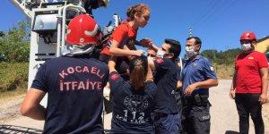 6 kişi itfaiye ekiplerince kurtarıldı