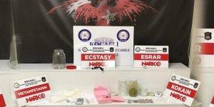 Kocaeli'de uyuşturucu operasyonları