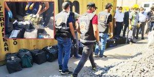 Kocaeli'de yarım ton uyuşturucu ele geçirildi