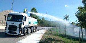 Kocaeli'de ağaçlar susuz kalmıyor