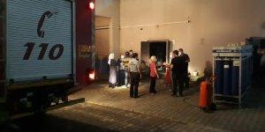 Darıca Farabi Eğitim ve Araştırma Hastanesinde yangın