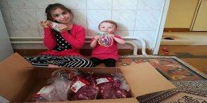 LÖSEV Kocaeli'n de ki ailelerine et yardımı