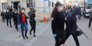 Fuhuş operasyonunda  9 kişi gözaltına alındı