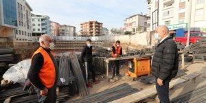 Sarı Cami Meydan Projesi'nde Çalışmalar Sürüyor
