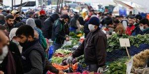Gıda fiyatları 2020'de yüzde 29,9 arttı