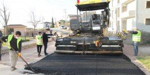 Cumhuriyet Mahallesi'ne sıcak asfalt