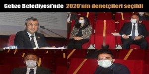 Gebze Belediyesi'nde  2020'nin denetçileri seçildi