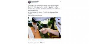 KOÜ Rektörü'ne sosyal medyada  aşı tepkisi!