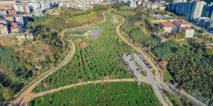 Kişi başına düşen yeşil  alan 12,57 metrekare