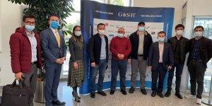 Özbek heyetten GOSB ziyareti