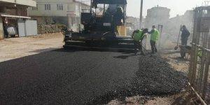 Mahallelerde asfalt çalışmaları