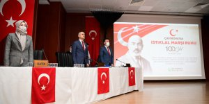 Çayırova Belediyesi'nden  Gündem İstiklal Marşı oldu