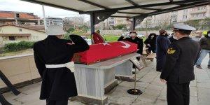 Kıbrıs Gazisi askeri törenle uğurlandı