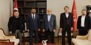 Saadet Partisi Darıca  Karamollaoğlu ile görüştü