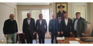 CHP İlçe Başkanlarından gazetemize ziyaret