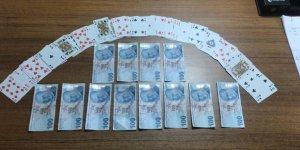 Kumar oynayan  5 kişiye para cezası