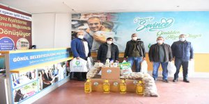 AKP'li belediyeden grevcilere erzak desteği