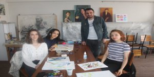 BİLKAR'da resim kursları çevirim içi sürecek