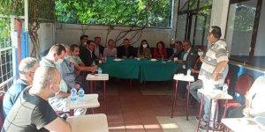 CHP'liler İstasyon Mahallesi'nde toplandı